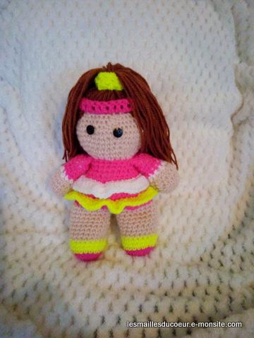 amigurumi poupon yoyo - YouTube | Lidia crochet tricot, Poupon ... | 480x360